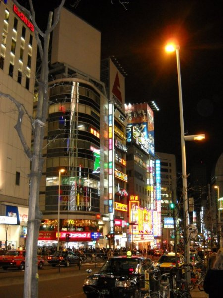 Mitt første bilde i Shinjuku!